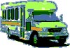 drawing of paratransit van