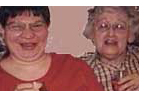 photo of Sharon Price and her Aunt Sis